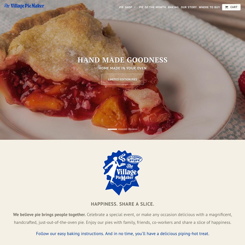 The Villae PieMaker Website