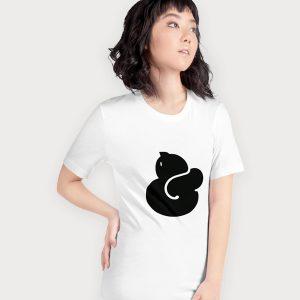Catpersand t-shirt left