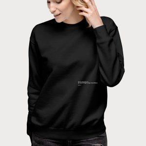 Shipwreck Sweatshirt on Model