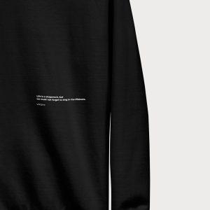 Shipwreck Sweatshirt Closeup